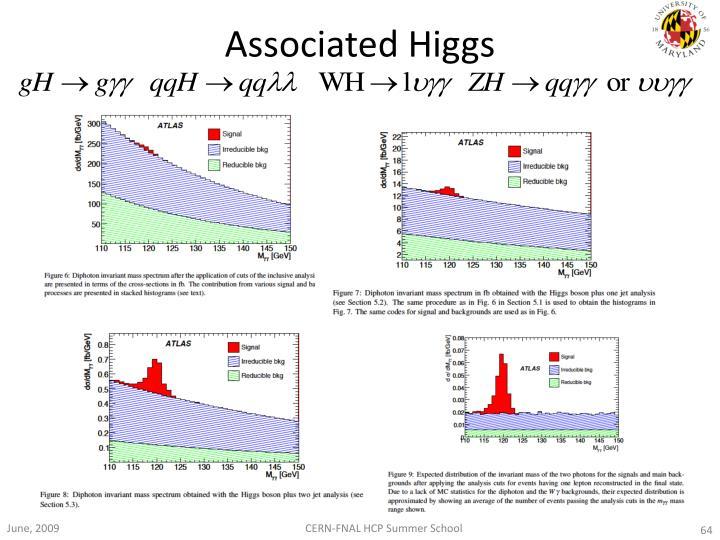 Associated Higgs