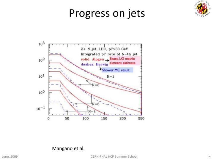 Progress on jets