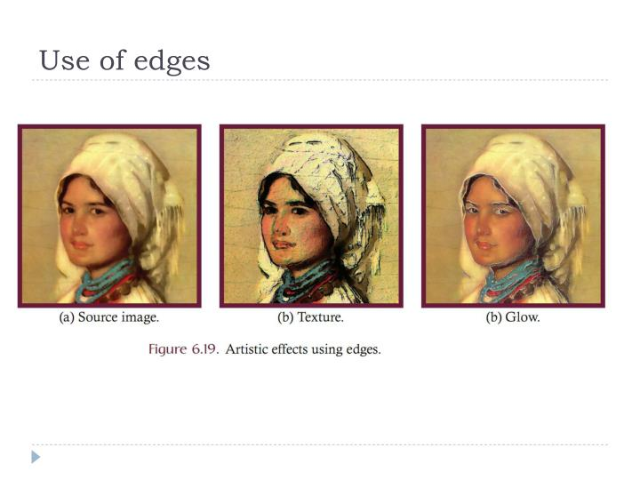 Use of edges