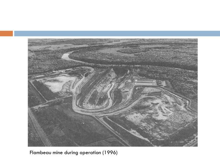 Flambeau mine during operation (1996)