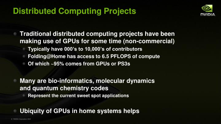 Distributed Computing Projects