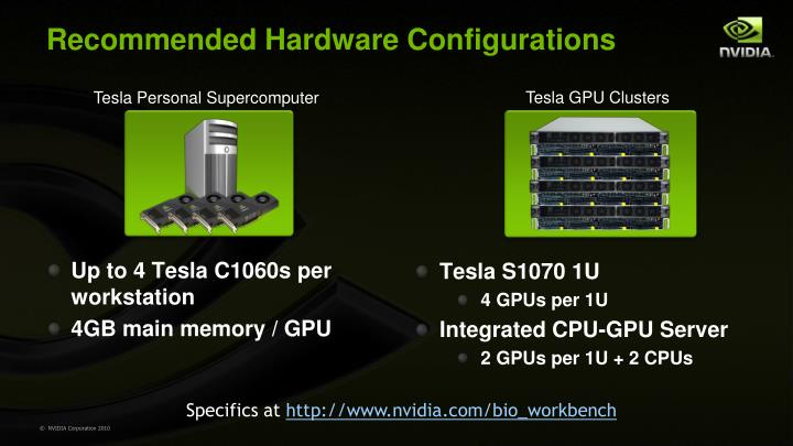 Recommended Hardware Configurations