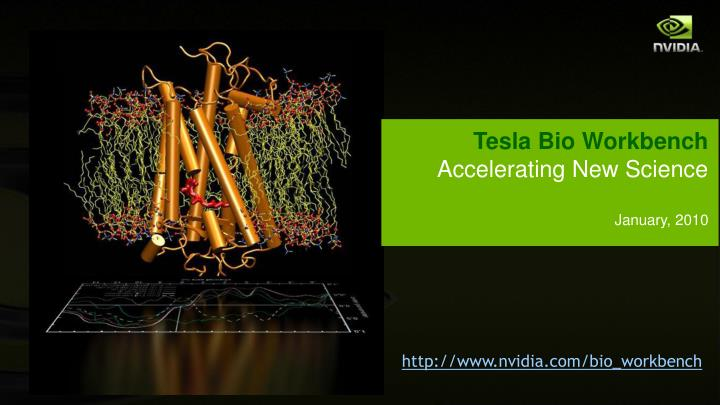 Tesla Bio Workbench
