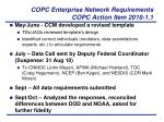copc enterprise network requirements copc action item 2010 1 11