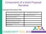 components of a grant proposal narrative4