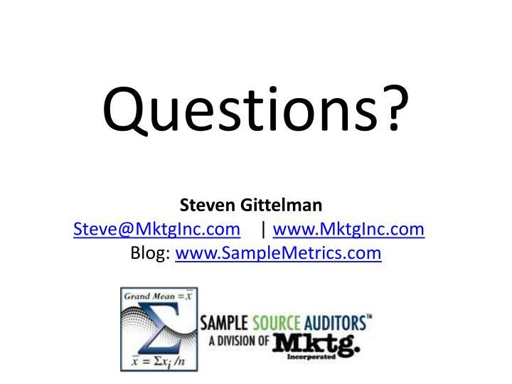 Steven Gittelman