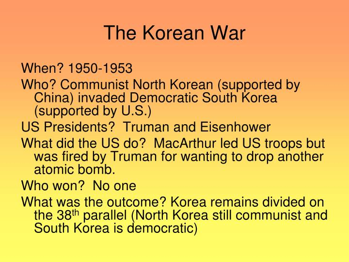 korean war results 1953 what was the final outcome of the korean