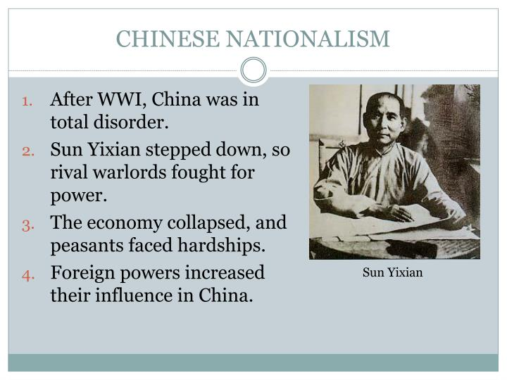 CHINESE NATIONALISM