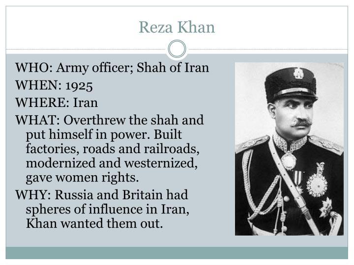 Reza Khan