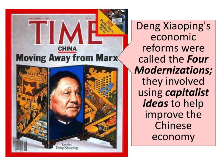 DENG XIAOPING'S EARLY ECONOMIC REFORMS