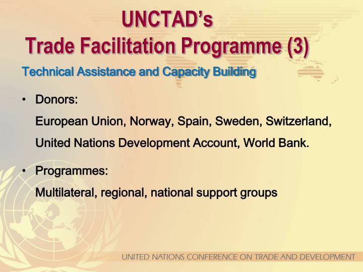 UNCTAD's