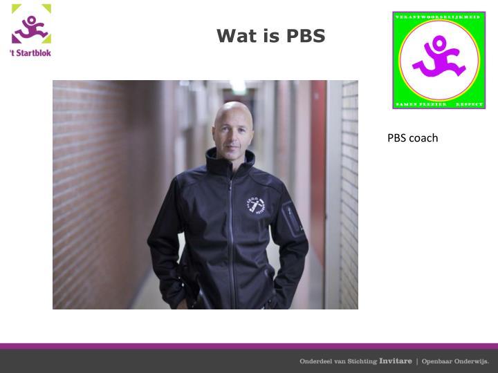 Wat is PBS