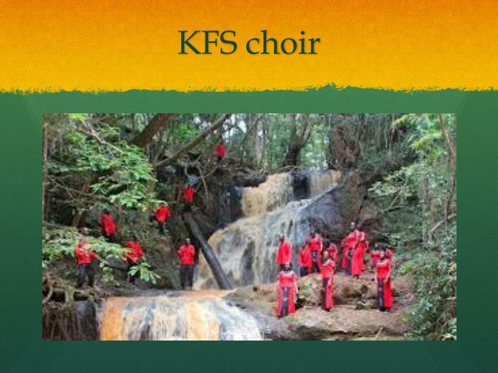 KFS choir