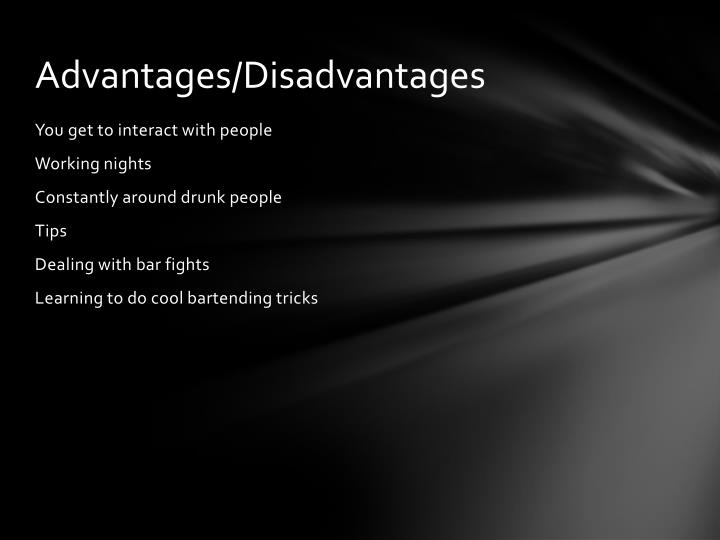 Advantages/