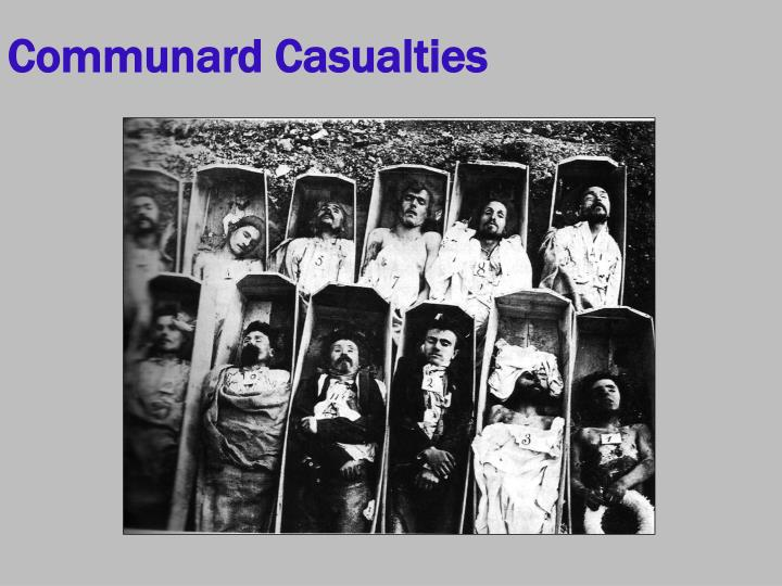 Communard Casualties