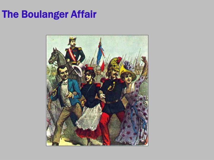 The Boulanger Affair