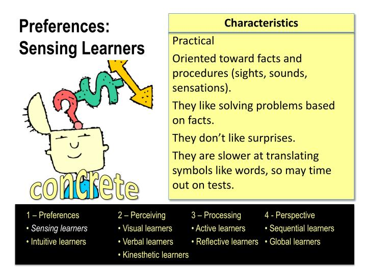 Preferences sensing learners