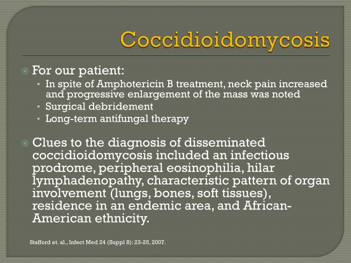 Coccidioidomycosis