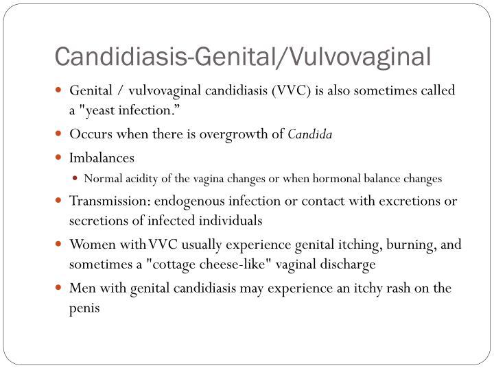 Candidiasis-Genital/