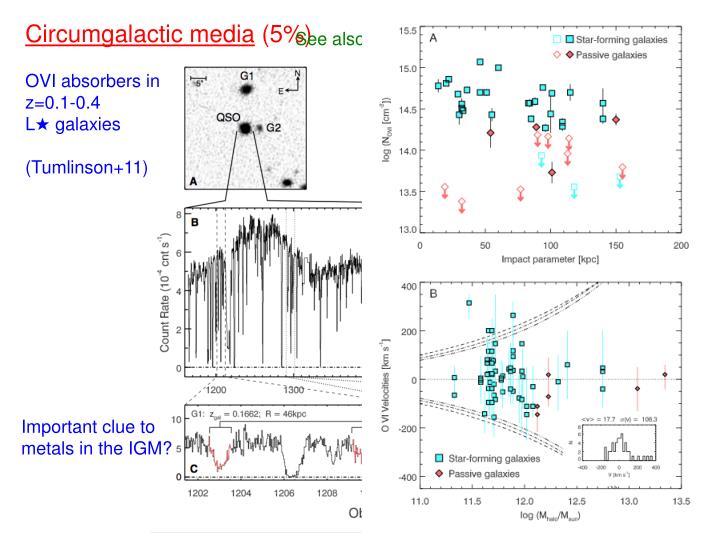 Circumgalactic media