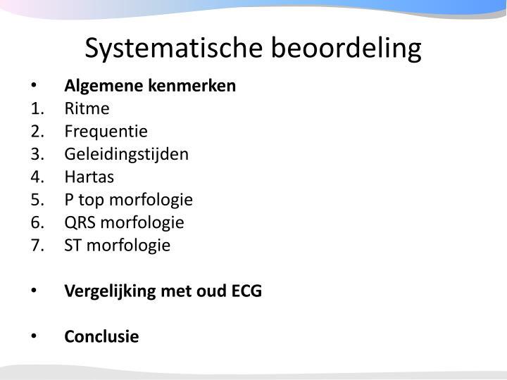 Systematische beoordeling