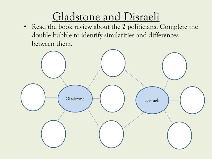 gladstone disraeli Den store politiske rivalen til disraeli var william gladstone begge er kjent som grunnleggerne av den moderne britiske politikken disraeli var en uhemmet begge er kjent som grunnleggerne av den moderne britiske politikken.