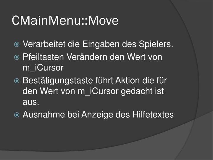 CMainMenu::Move