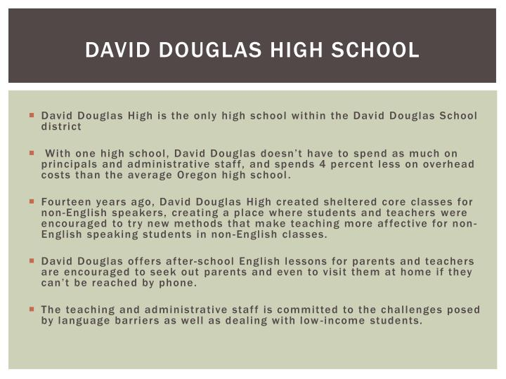 David Douglas High School