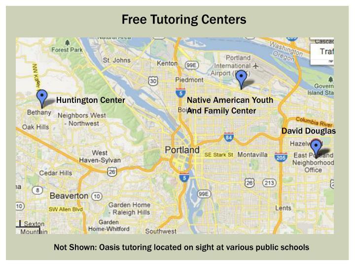 Free Tutoring Centers