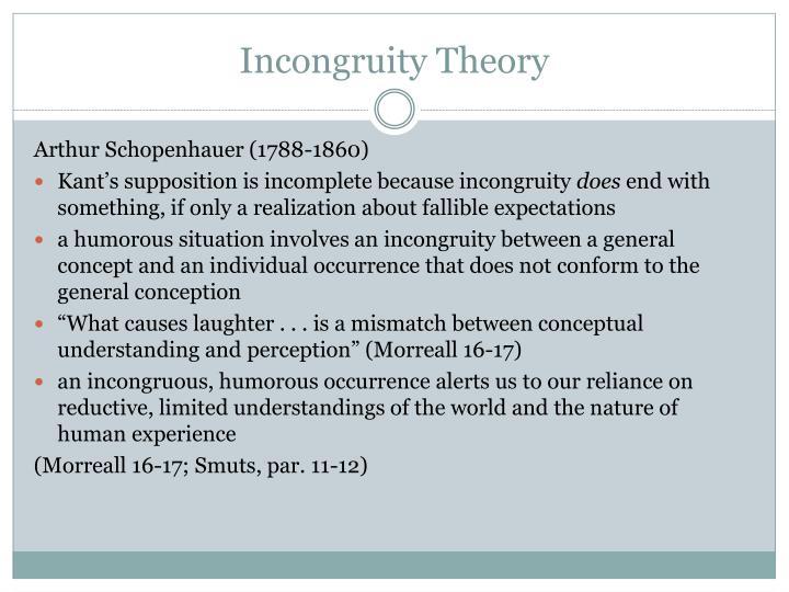 Incongruity Theory