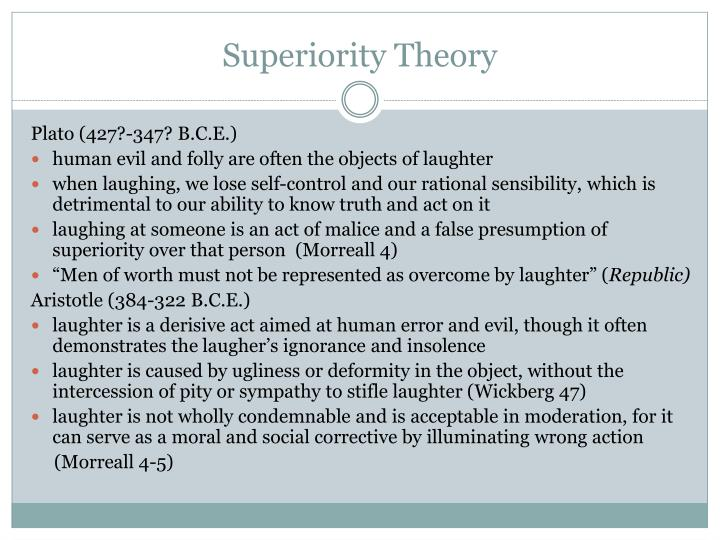 Superiority theory