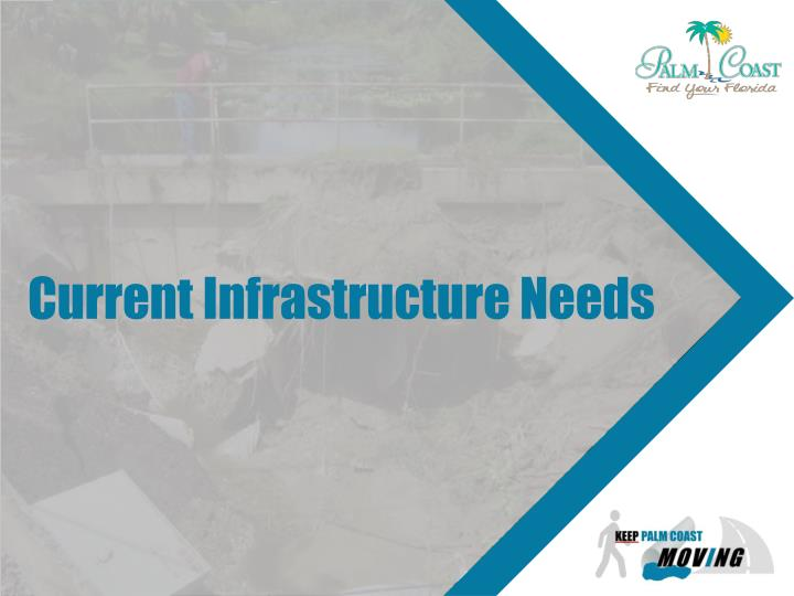 Current Infrastructure Needs