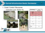 current infrastructure needs stormwater