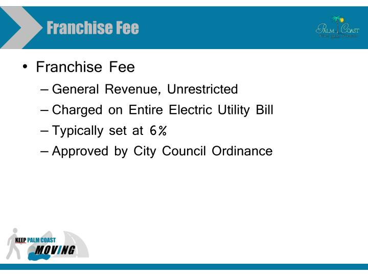 Franchise Fee