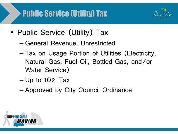 Public Service (Utility) Tax