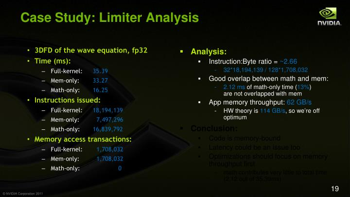 Case Study: Limiter Analysis
