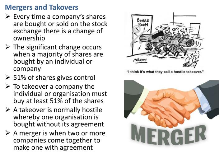 Mergers and