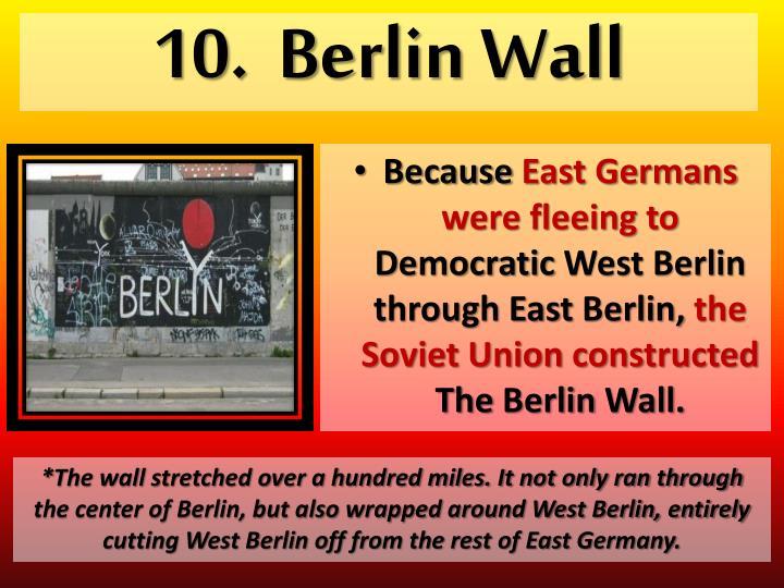 10.  Berlin