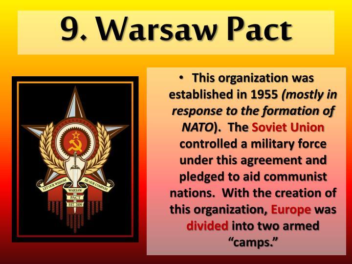 9. Warsaw