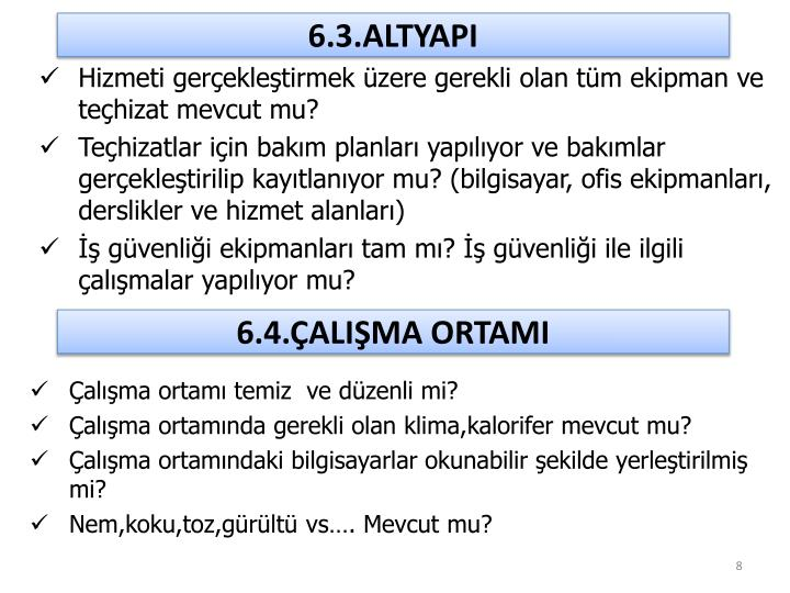 6.3.ALTYAPI