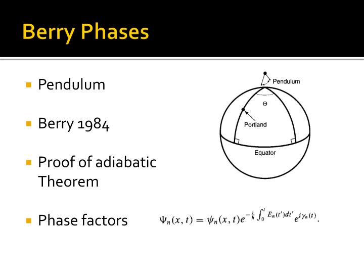 Berry Phases