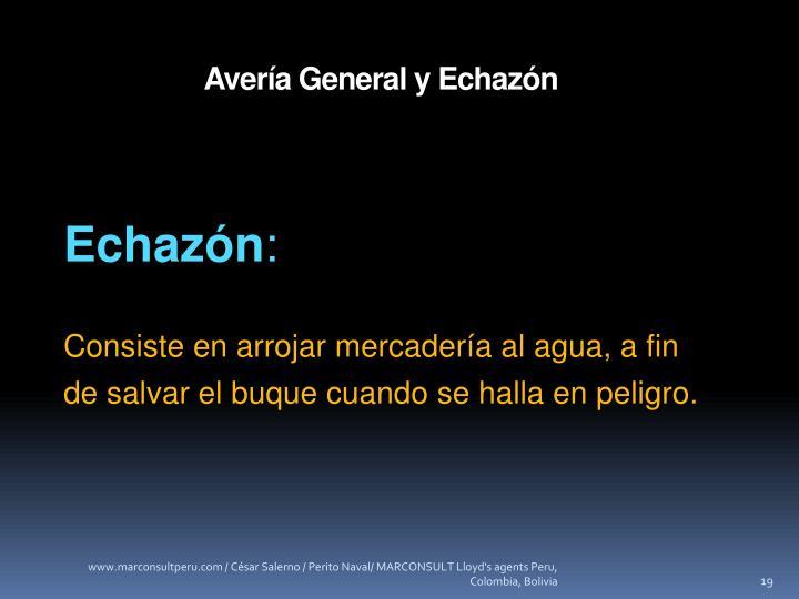 Avería General y Echazón