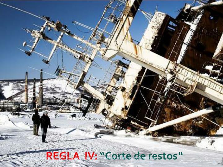 REGLA  IV: