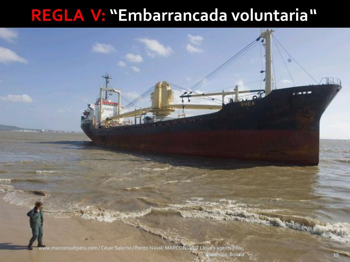 REGLA  V: