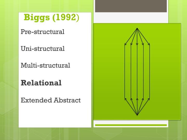 Biggs (1992