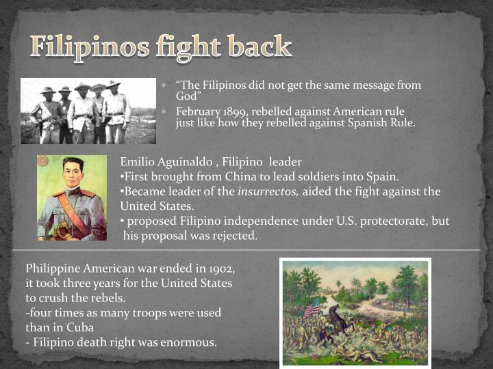 Filipinos fight back