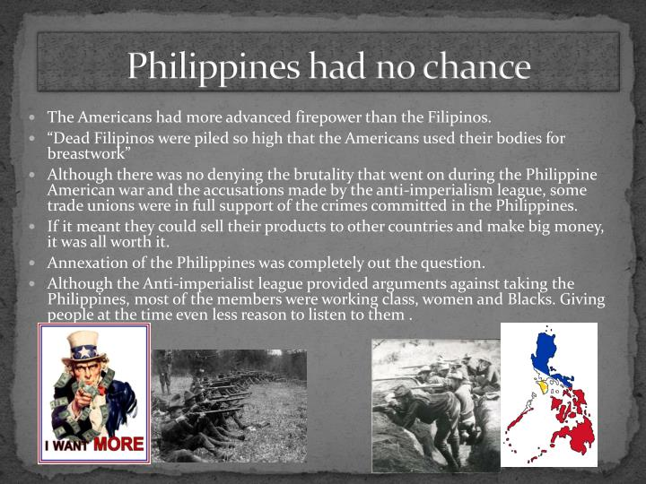 Philippines had no chance