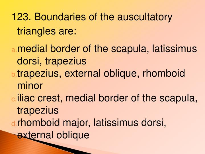 123. Boundaries of the