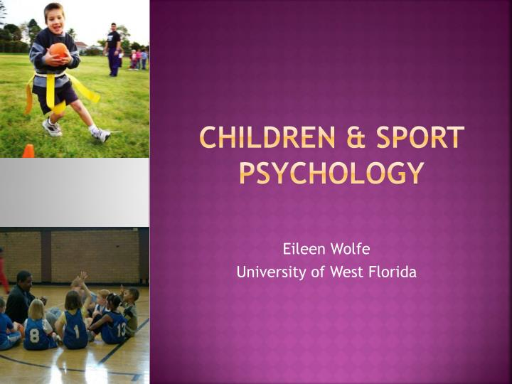 Children sport psychology