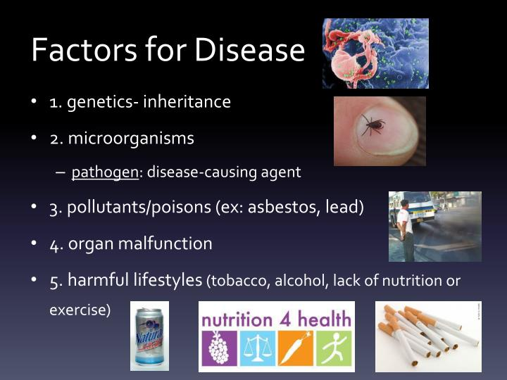 Factors for Disease